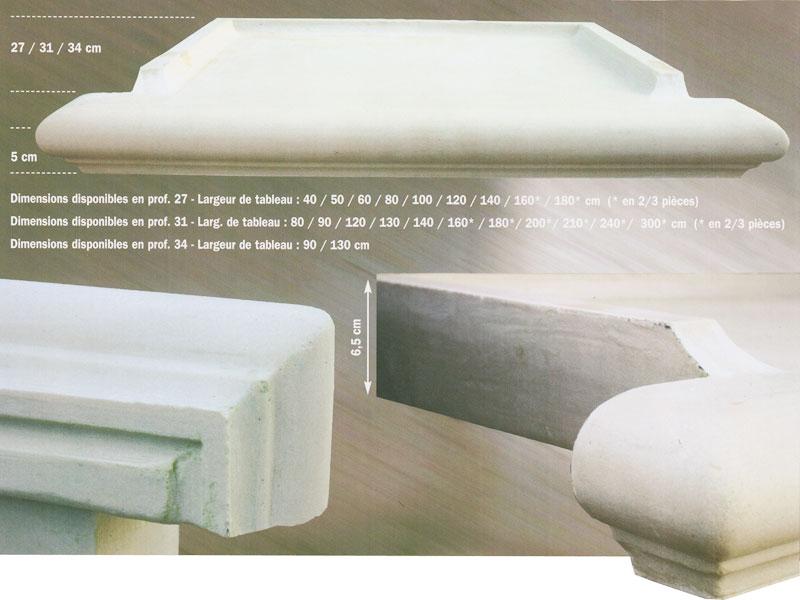 Appuis de fen tres pose de corniche pr s du var 83 for Pose appui de fenetre prefabrique
